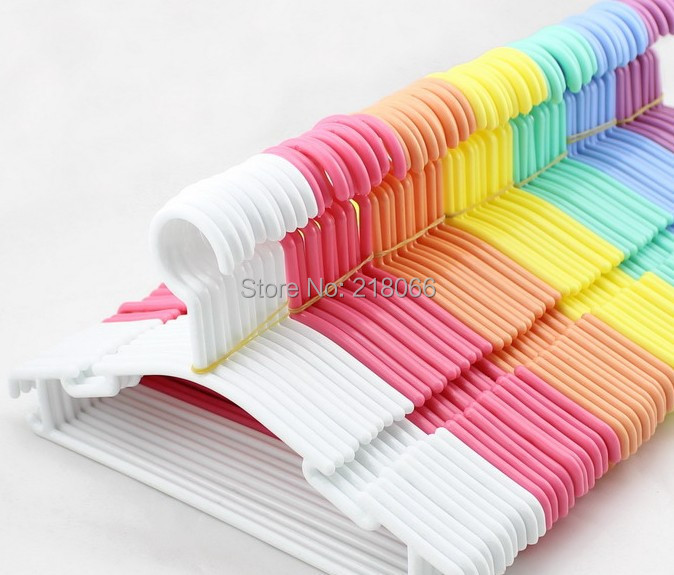 Online Get Cheap Plastic Baby Hangers Aliexpress Com