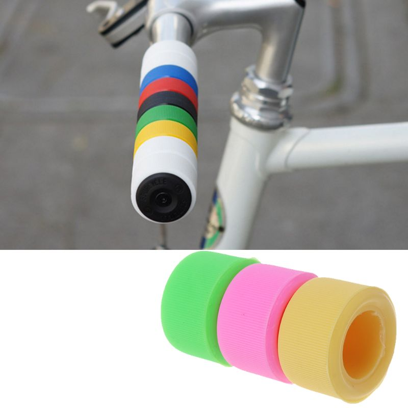 1 Pair Kids Bicycle Grips with 20mm Handlebar Rubber Handle Grips Protector