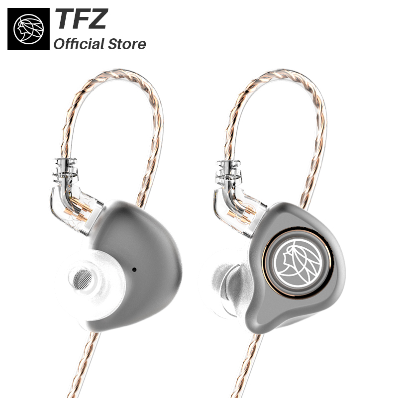The Fragrant Zither/ KING PRO Neckband HIFI Monitor Earphones, TFZ In Ear sports Hifi Earbuds Bass Earphones Metal earphone tfz hifi monitor exclusive king experience version hifi in ear earphones iems detachable cable