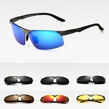 New Aluminum Magnesium Polarized Sunglasses Men S Night Driving Mirror Eyewear Sun Glasses Oculos De Sol Masculino