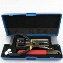 Professional 12 in 1 HUK Lock Disassembly Tool Locksmith Tools Kit Remove Lock Repairing pick Set