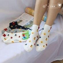 5ab19e4327 Carino calze di Strada di Sesamo Elmo Cookie Monster modo divertente della  novità delle donne calzino