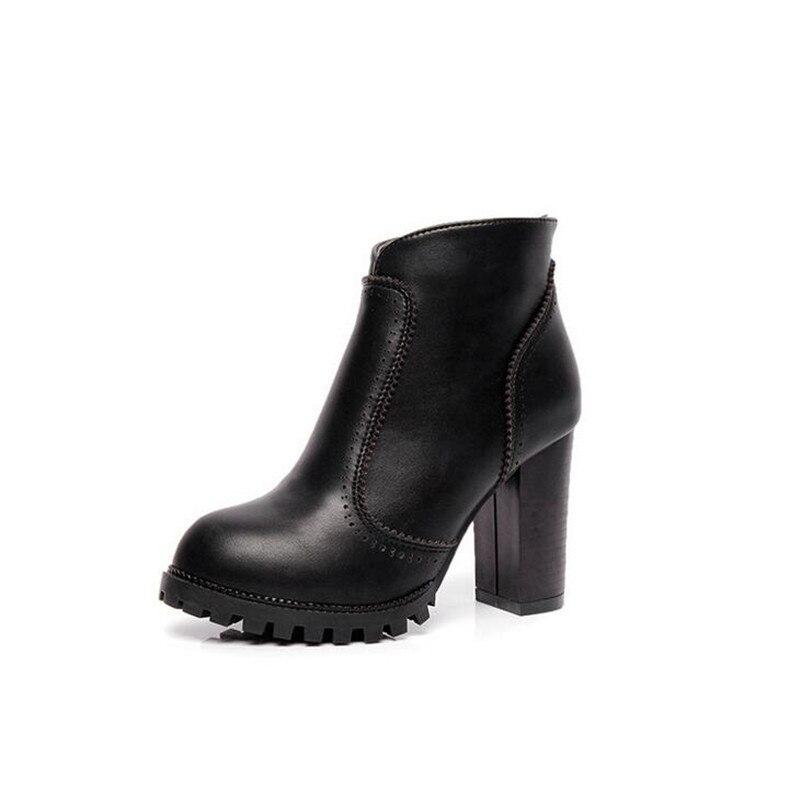 2016 autumn boots women high heels boots women boots Martin boots boots