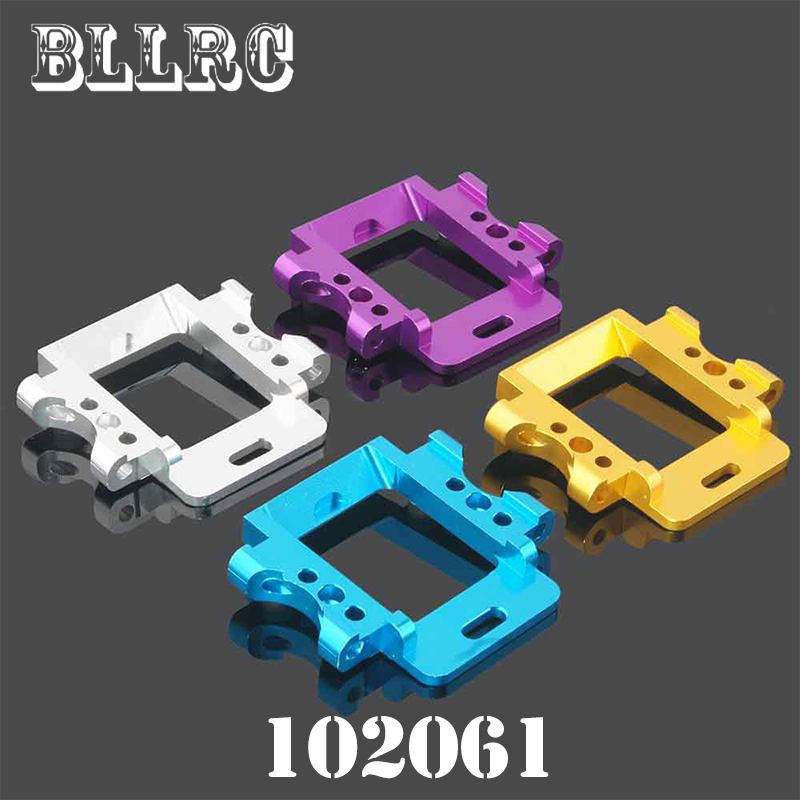 RC car 1/10 HSP 102061 Aluminum Rear Gear Box Mount 02021 1:10 Upgrade Parts For 94103 94123 94111 94107 94108 94170 free shipping hsp 1 10 speed reduction gear set differential gear box 02126 spare parts fit for 94101 1 10 rc car
