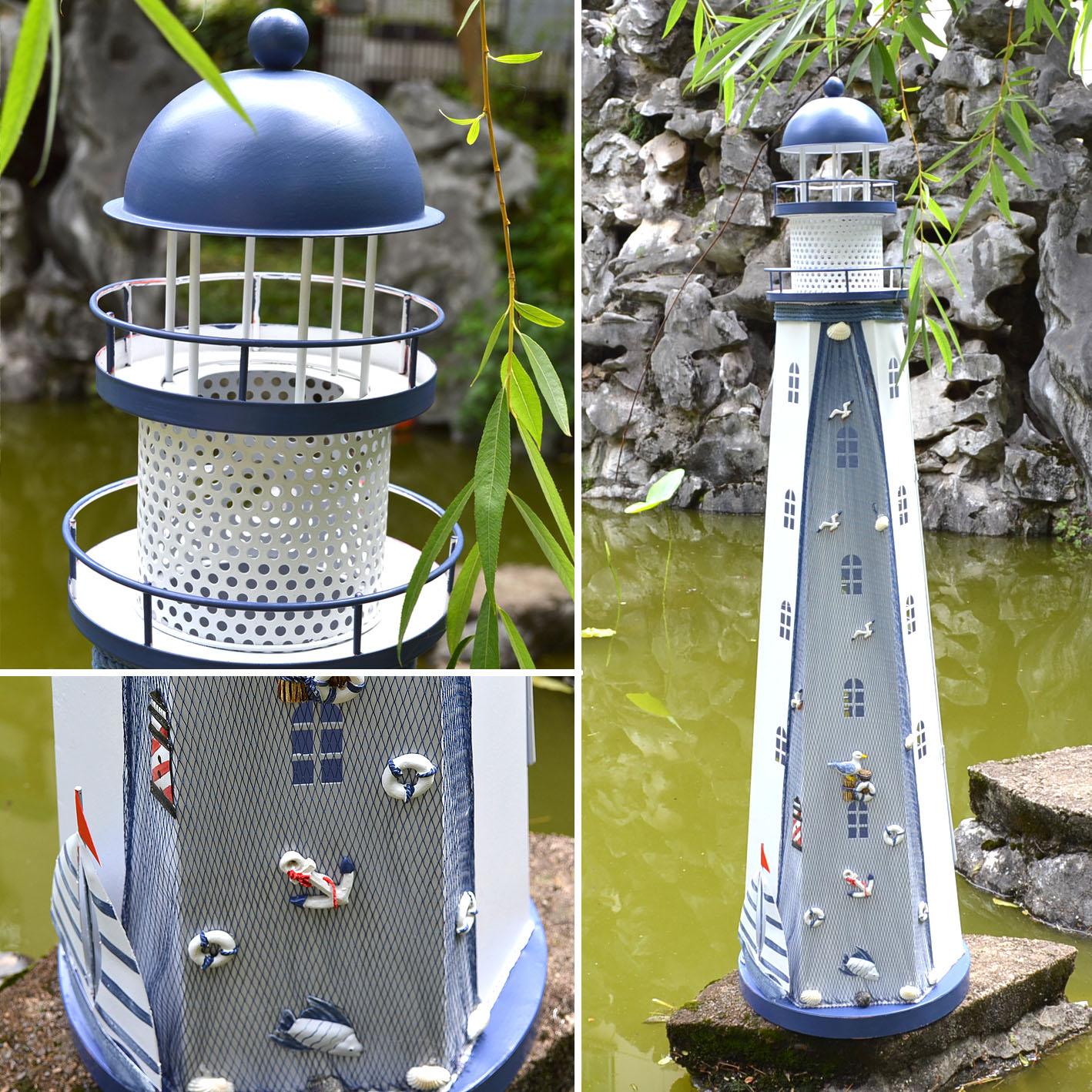 Средиземноморский декоративные Полная Утюг этаж башни маяка Сторожевая Башня старый украшение, украшение дома Интимные аксессуары