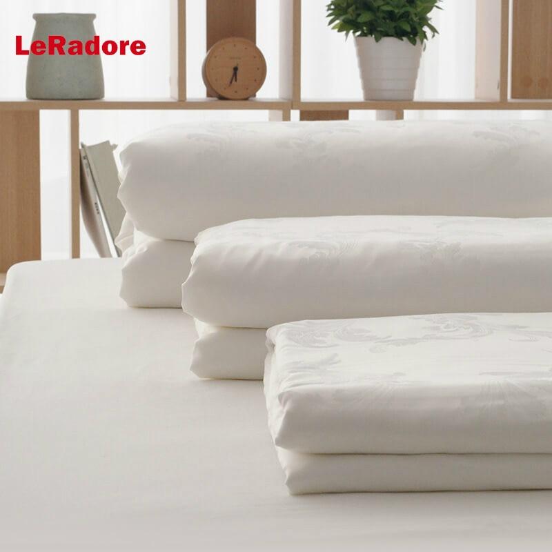 Naturals LeRadore 100% Jacquard de seda amoreira seda pura cobertor/colcha/lençóis/duvet recheio para o inverno/verão branco color220 * 240 cm