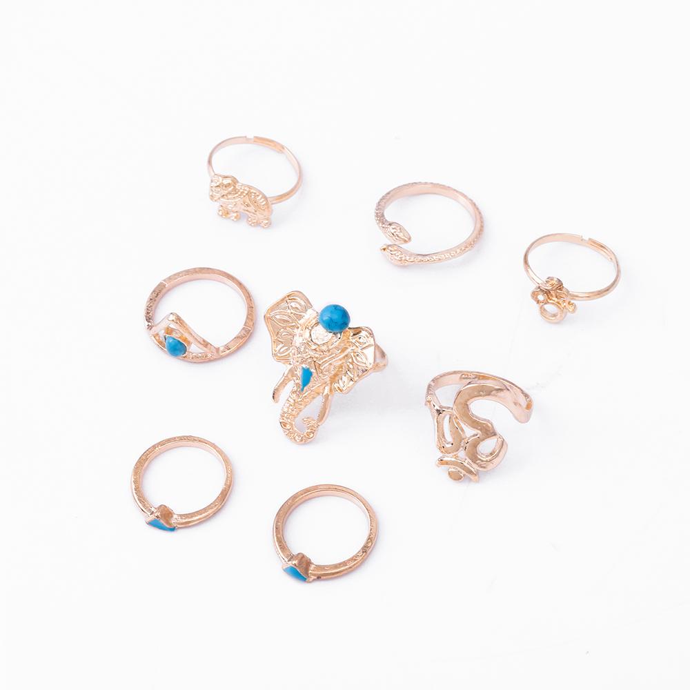 HTB1tgaxRVXXXXcqaXXXq6xXFXXXd Fashionable 8-Pieces Boho Retro Spirituality Symbols Stackable Midi Ring Set