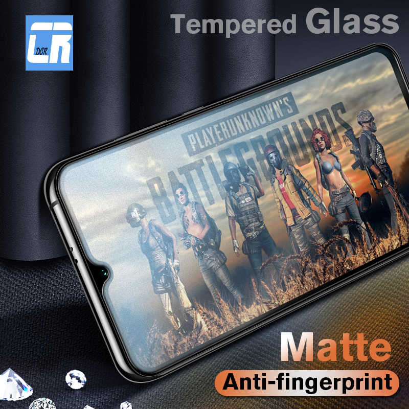 Anti Fingerprint Matte Tempered Glass on the for Xiaomi 9 8 SE Screen Protector Redmi 5 Plus Note 7 5A 6 Pro 6A Protective Film