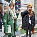 Осень зима пальто материнства Большой размер пуховик С Капюшоном утолщение хлопка-ватник материнства теплую одежду