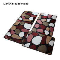 3 Pieces Set Large Size Bath Mat For The Kitchen Living Rom Cheap Large Non Slip