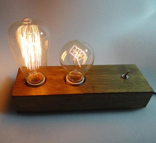 loft vintage industrial country personalized wood decoration edison table lamp for bedroom coffee study modern lighting aliexpresscom buy vintage industrial lighting modern
