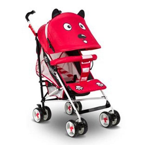 New Design Baby Stroller Lightweight Foldable Pushchair Travel Safety Pram Baby Carriage Cartoon Cute Umbrella Strollers