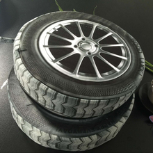 3D Pillow Tire Wheels Creative Plush Pillow Cushions