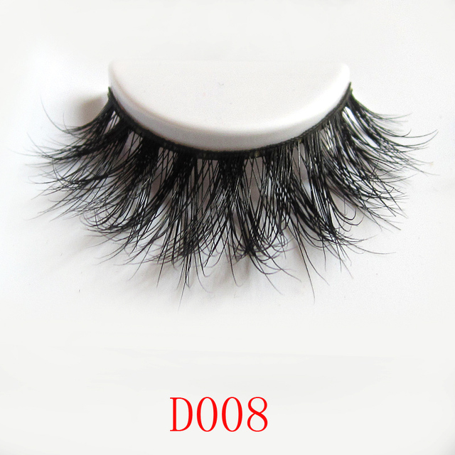 Free shipping D008 1pcs/lot 3d  layered mink eyelash