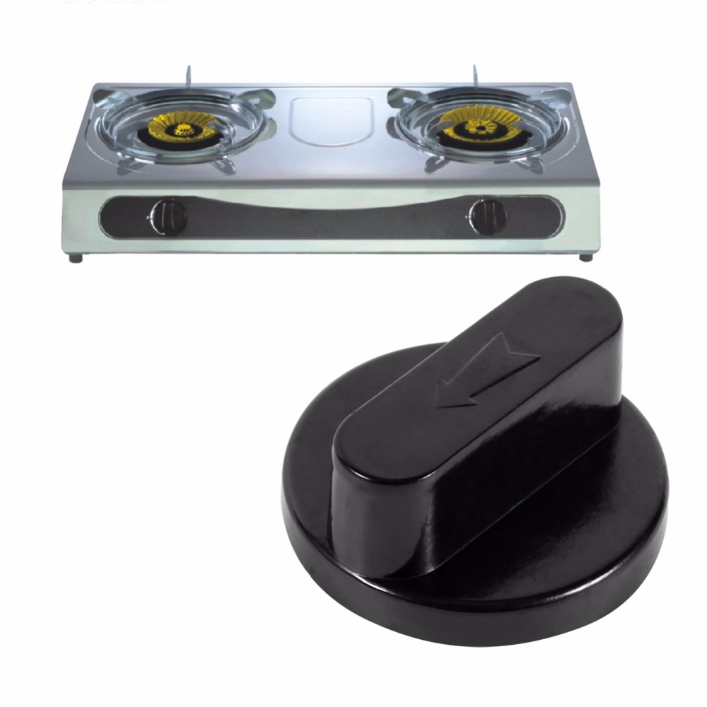 5pcslot kitchen bakelite gas stove oven cooktop range burner rotary switch knob handle black