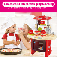 Children Cute Kitchen Cooking Toy Kit DIY Mini Food Toys Pretend Play House Miniature Cookware YH 17