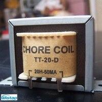 Amplificador de tubo de Bobina de choque 20 H 50mA Japones Z11 Recocido Hojas De Acero Al Silicio Filtro Amplificador de Audio HIFI DIY