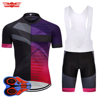 Crossrider Yaz 2018 Takımı BULE Erkek Bisiklet Giyim MTB İspanya bisiklet Giyim pro bisiklet Formalar Jel Şort Seti Ropa Ciclismo suit