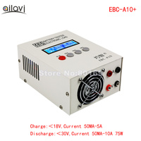 EBC A10+ Battery Capacity Tester Electronic Load Power Supply Tester Charge and Discharge Meter 0 30V10A