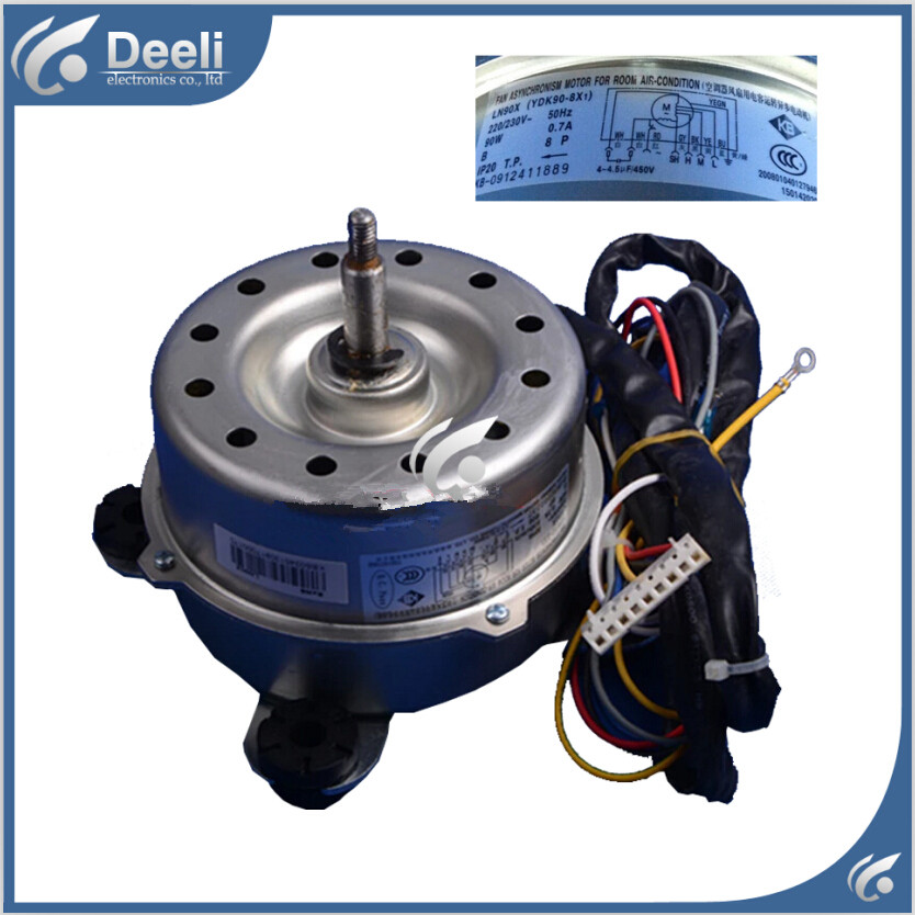 95% new good working for air conditioner inner machine motor LN90X YDK90-8X1 Motor fan 98% new used brand new smt yamaha feeder ft 8 2mm feeder used in pick and place machine