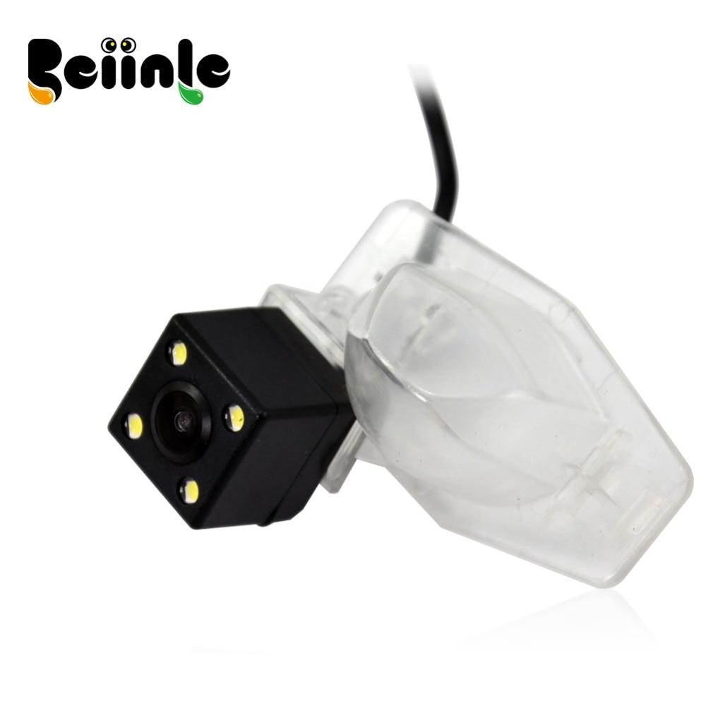 Beiinle 1/4 Color CCD Rear View Camera Parking Reverse Camera High resolution For Honda FIT / Honda CRV / Honda Odyssey