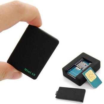 Cute Black Mini Global Locator Real Time Car Kids Pets Tracker GSM/GPRS/GPS Tracking Device High Quality #0528