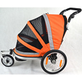Multifuncional bebé bicicleta cochecito de tres ruedas del remolque para 1 niños, marco De Aleación De Aluminio y la rueda de aire