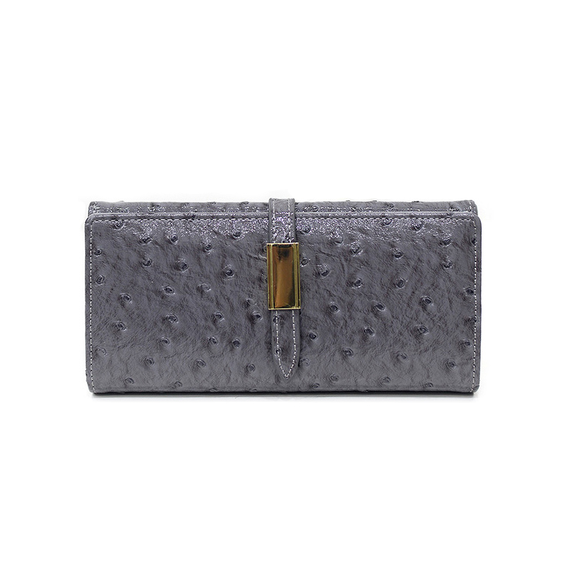 2017 famous brand Ostrich Design women wallets fashion PU Leather Hasp Clutch Coin Purses Lady long Wallet For Card Holder casual weaving design card holder handbag hasp wallet for women