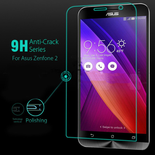 9H Tempered Glass For ASUS Zenfone C 45 5 6 2 Front