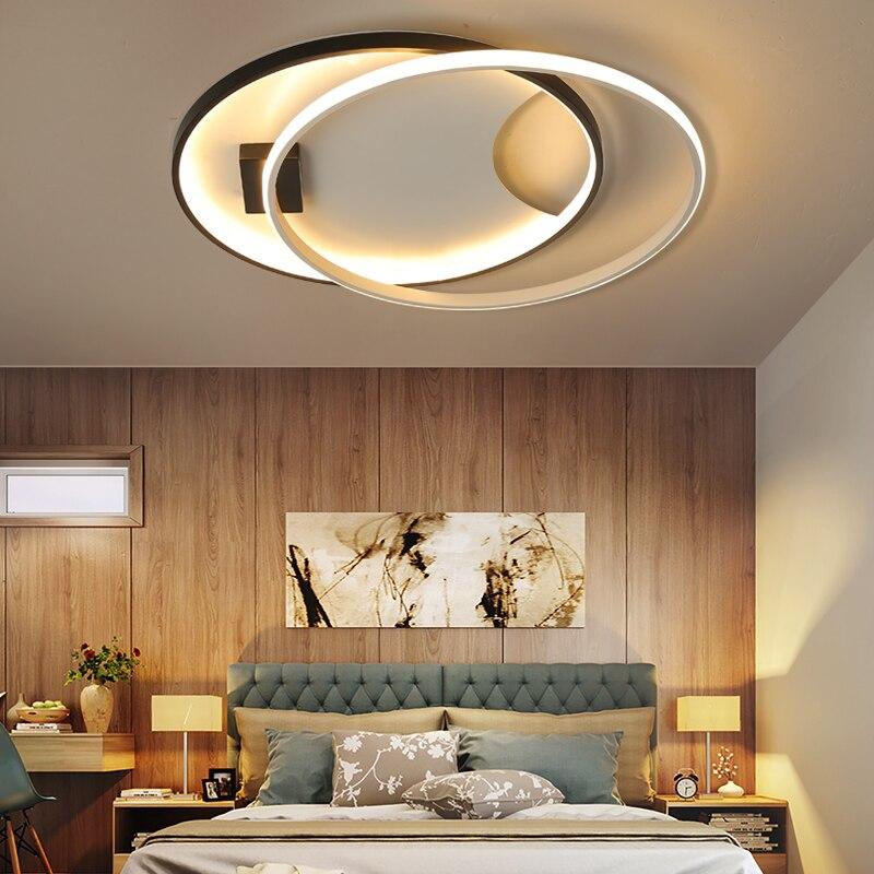 Creative Fashion Ceiling Lamp Led Ceiling Light For Foyer Living Room Bedroom Kitchen Black And White C Ceiling Lamp 110v 220v Ceiling Lights & Fans Ceiling Lights