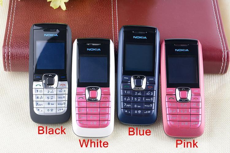 Refurbished Original Unlocked Nokia 2610 the Cheapest multi-language Cellphone white 1