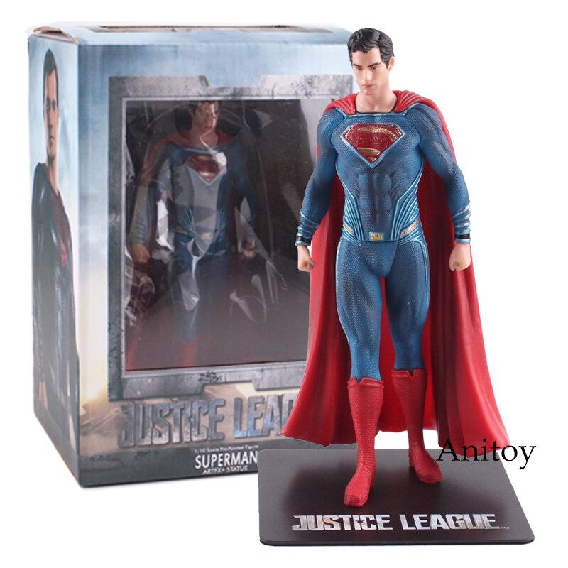 Супер-Герои jouets Супермен Бэтмен Wonder Woman Фигурку ПВХ Коллекционная Игрушка в Подарок 17.5 ~ 18 см