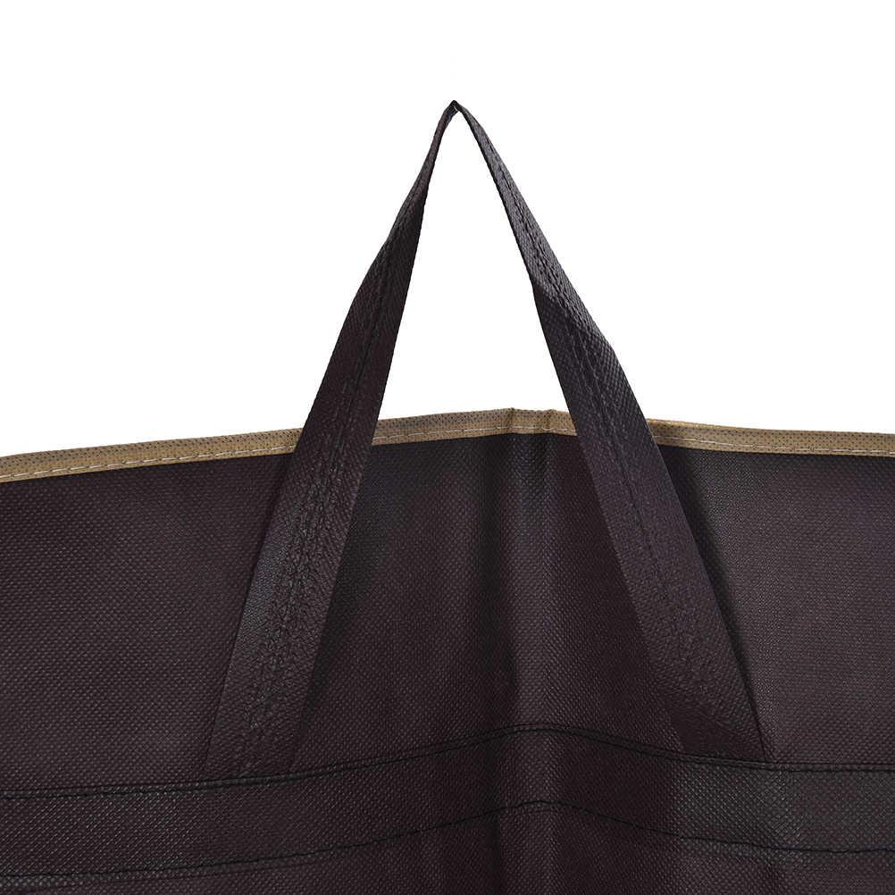7ed558d629 ... Men Dustproof Hanger Coat Clothes Garment Suit Cover Storage Bags  clothes storage Case clothing covers 3