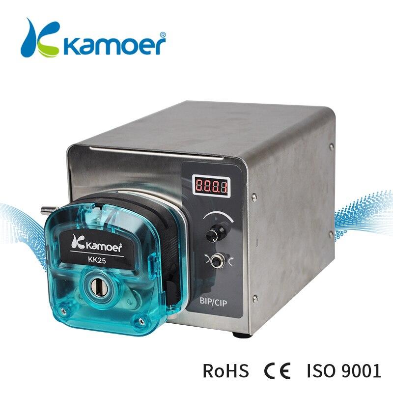 Kamoer BIP Intelligent Lab Pump 6L/min 220V Automatic Touch Screen Liquid Transfer Peristaltic Pump kamoer lab uip peristaltic pump high precision and intelligent water pump
