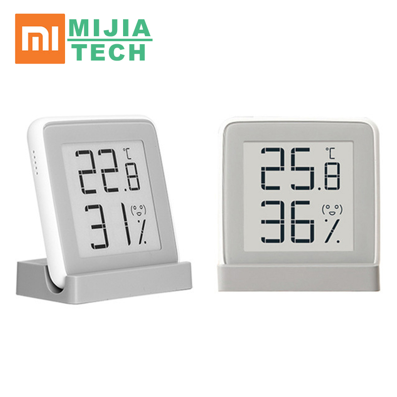 Xiaomi mi Indoor Hygrometer Digital Thermometer Weather Station Smart Electronic Temperature Humidity Sensor Moisture Mete|Smart Remote Control| |  - title=