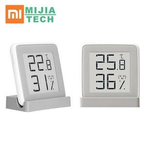 Image 1 - Цифровой гигрометр Xiaomi mi, Умная Электронная метеостанция, термометр, датчик влажности и температуры в помещении