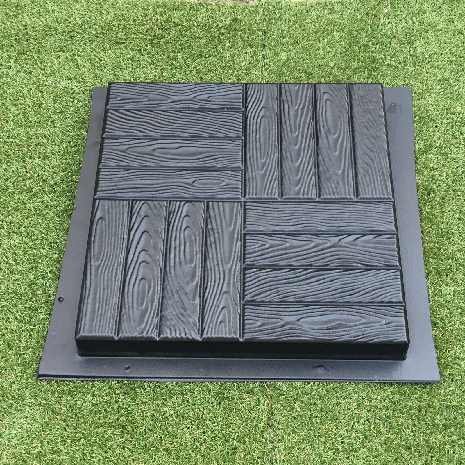 1 Pcs Plastic MOLDS For Concrete Garden Stepping Stone Path Patio MOULDS  CEMENT ...
