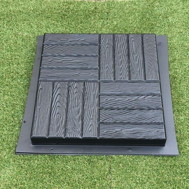 Exceptionnel 1 Pcs Plastic MOLDS For Concrete Garden Stepping Stone Path Patio MOULDS  CEMENT