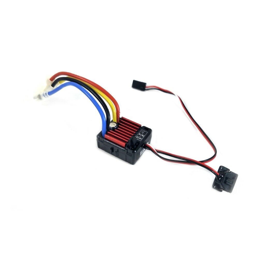 HobbyWing QuicRun cepillado 1060 60A controlador electrónico de velocidad ESC 1060 con interruptor modo BEC para 1:10 RC Coche