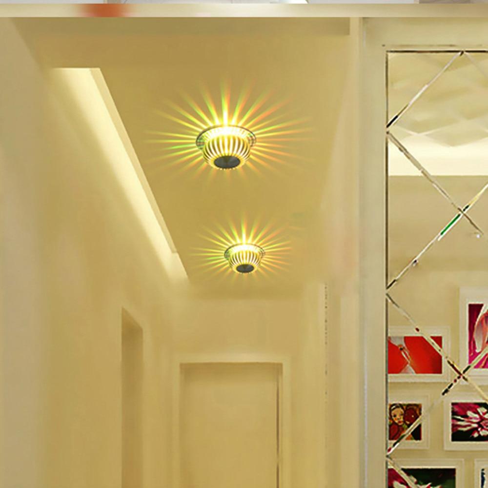 lamparas de techo alto brilho led retangular sala 06