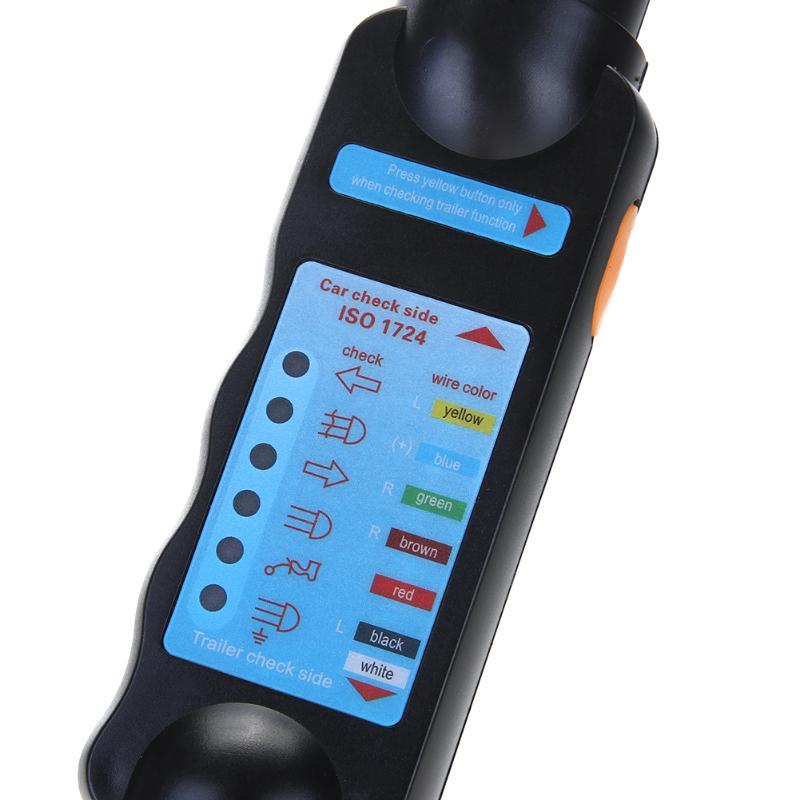 12 В Электрический Прицепы проводки тестер 7pin 13pin свет буксировки Провода цепи розетка комплект для караван Велосипедный Спорт