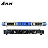 Новый 1000 Вт 2 канала класса D Цифровой 1 U professional усилитель мощности