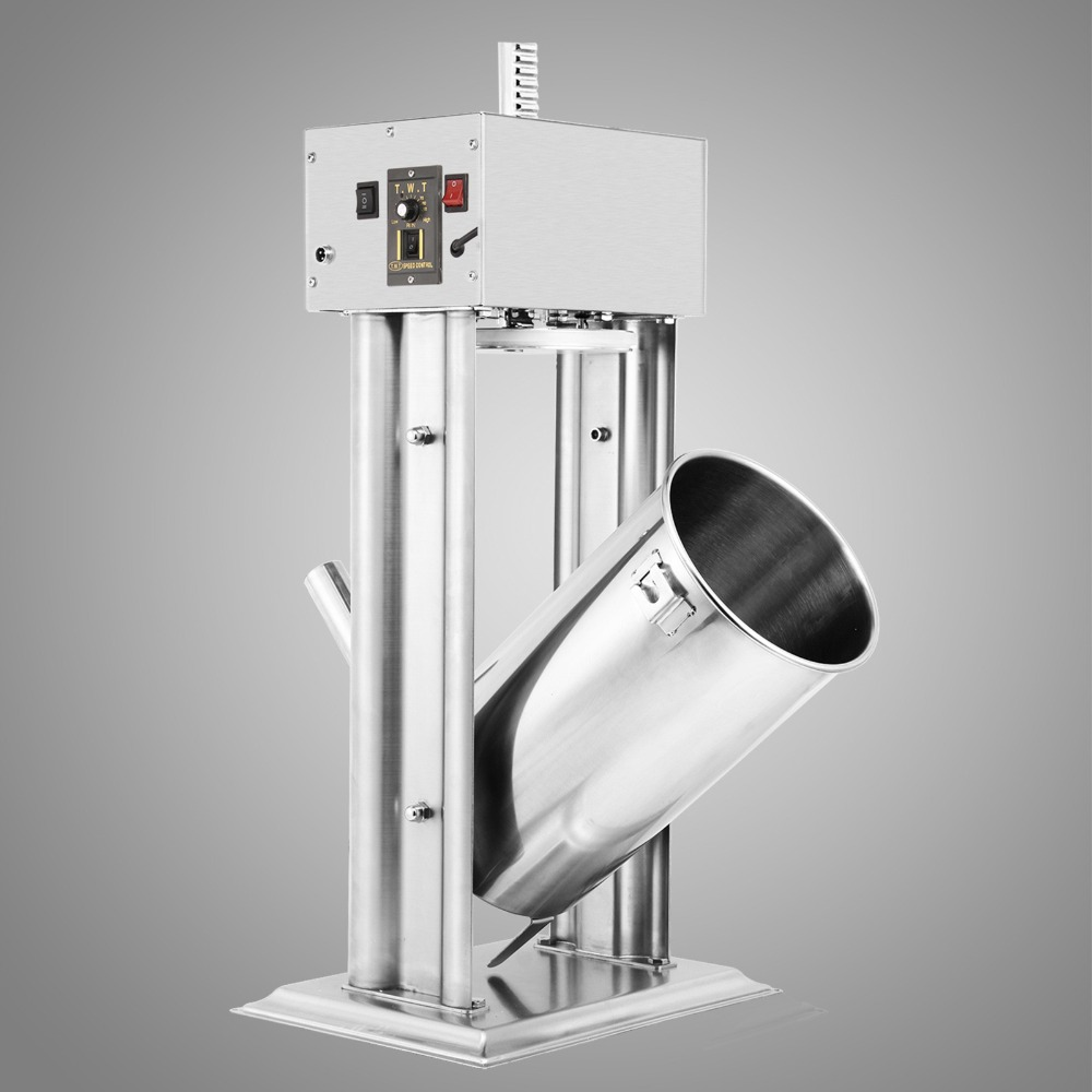 Commercial Electric 15L 33LBS Vertical Sausage Filler Stuffer Meat Maker Stainless Steel