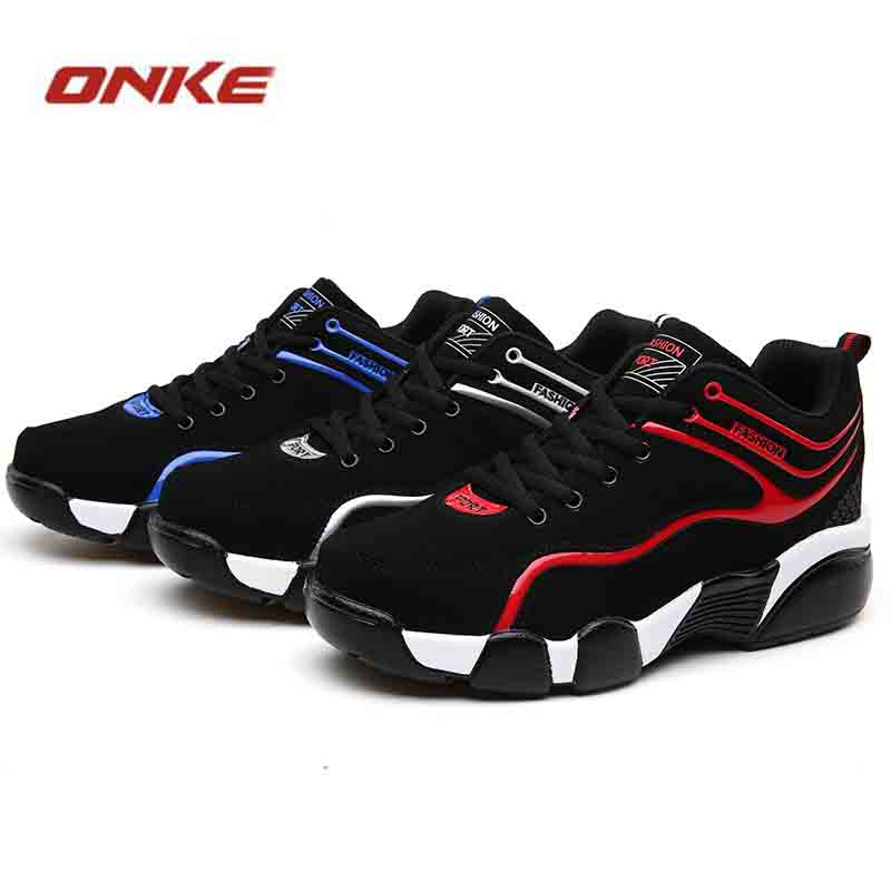 Men Running Shoes Low To Help sports shoes Sneakers Springs Red Blue Running Shoes Zapatillas Deportivas Hombre Size Eu39-44