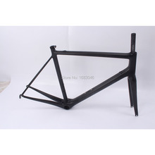 Toray T800 Full Carbon Matt Road Bike 700C Bicycle Cycling Frame And Fork 51/54/56cm Super light