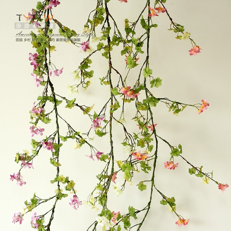 ⊹Decorative Flowers Wreaths Beautiful fresh five petal flower ...