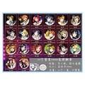 20 pcs/lot LoveLive Toys Brooch Badge LOVE LIVE Pins 20 Different Design 58MM