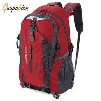 Guapabien 2016 New Fashion Out Door Nylon Women Men Bags Waterproof Travel Backpack Mochilas Rucksack High