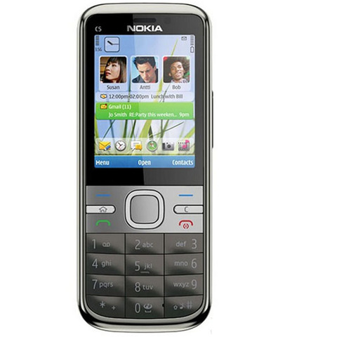 C5 Nokia C5-00 Original Unlocked mobile phone 3MP/5MP Camera 3G GPS Bluetooth FM C5-00 cell phone Cheap Phone Frees hipping Islamabad