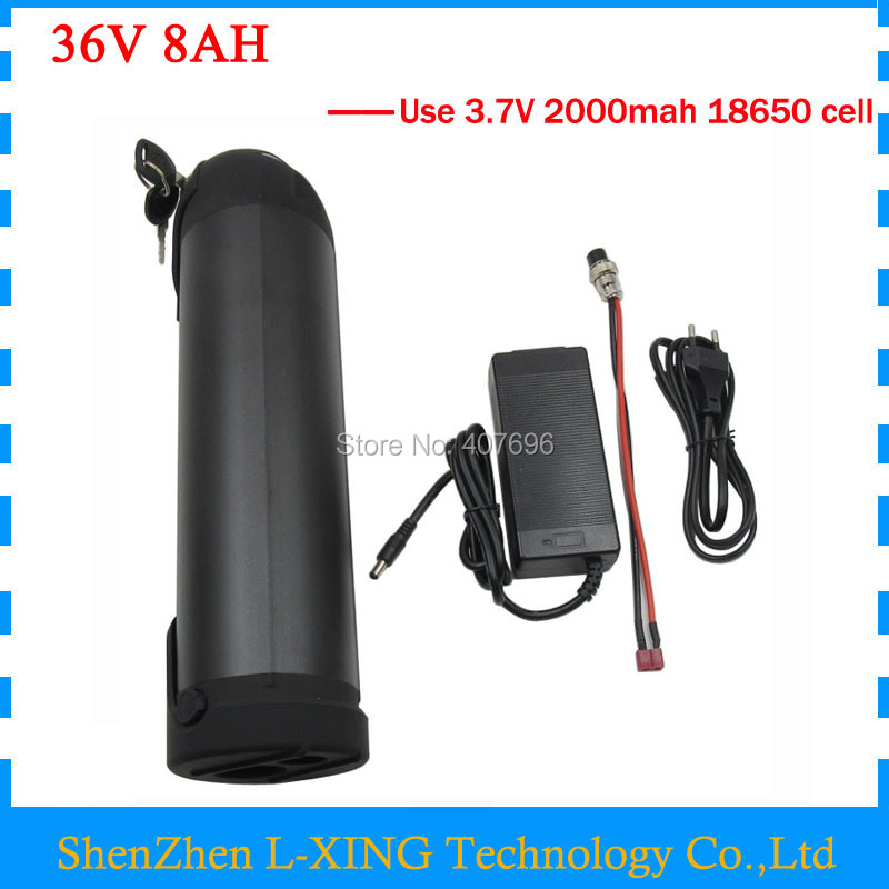 36V Electric Bike battery 36V 8AH water bottle battery 36V 500W 36V Lithium ion battery with BMS 2A Charger Free customs fee 24v e bike battery 8ah 500w with 29 4v 2a charger lithium battery built in 30a bms electric bicycle battery 24v free shipping